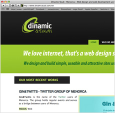 WORKS. Web design